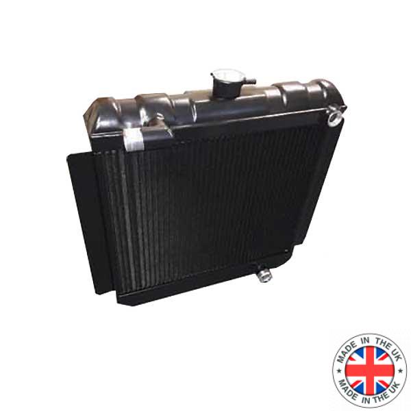 Escort Mk2 Pinto Group 4 Alloy radiator